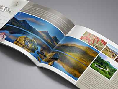 brochure design great walks of tasmania
