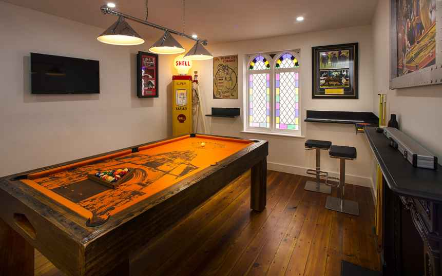 Pool Room Walker Designs